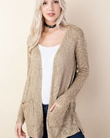 Knit Sweater Cardigan