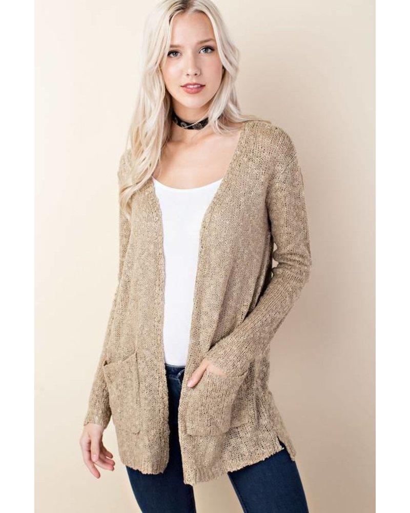 Knit Sweater Cardigan