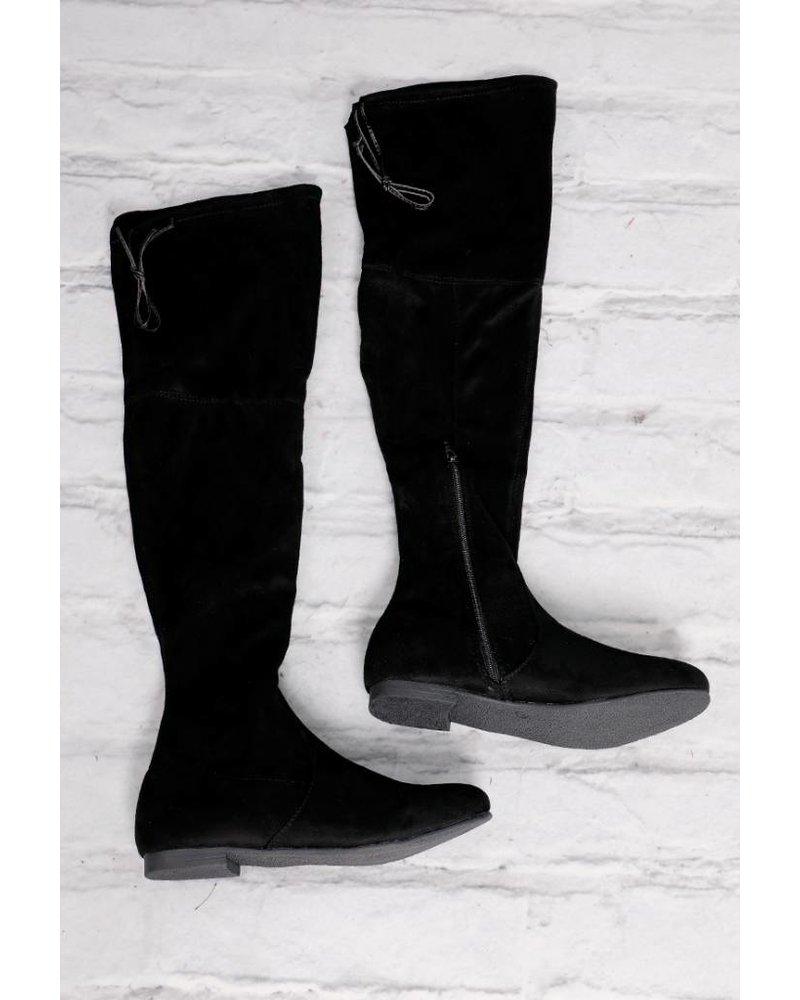 Flat Over Knee Boot