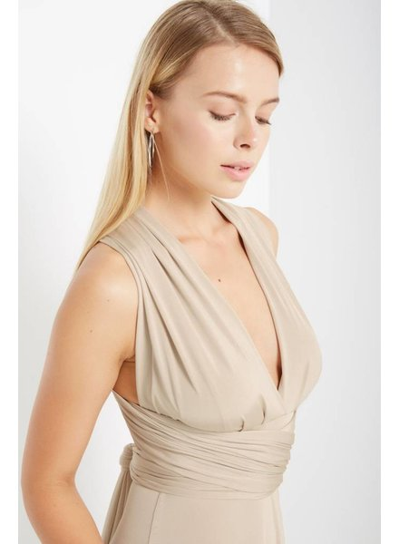 Free Spirit Convertible Maxi in Champagne