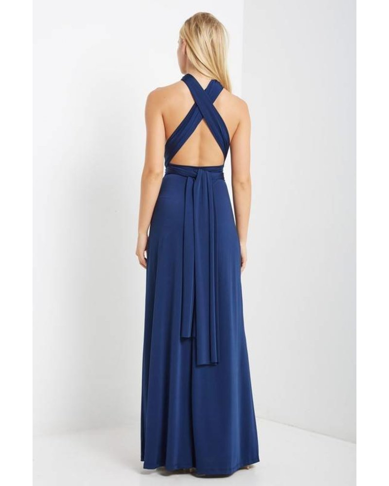 Free Spirit Convertible Maxi in Navy