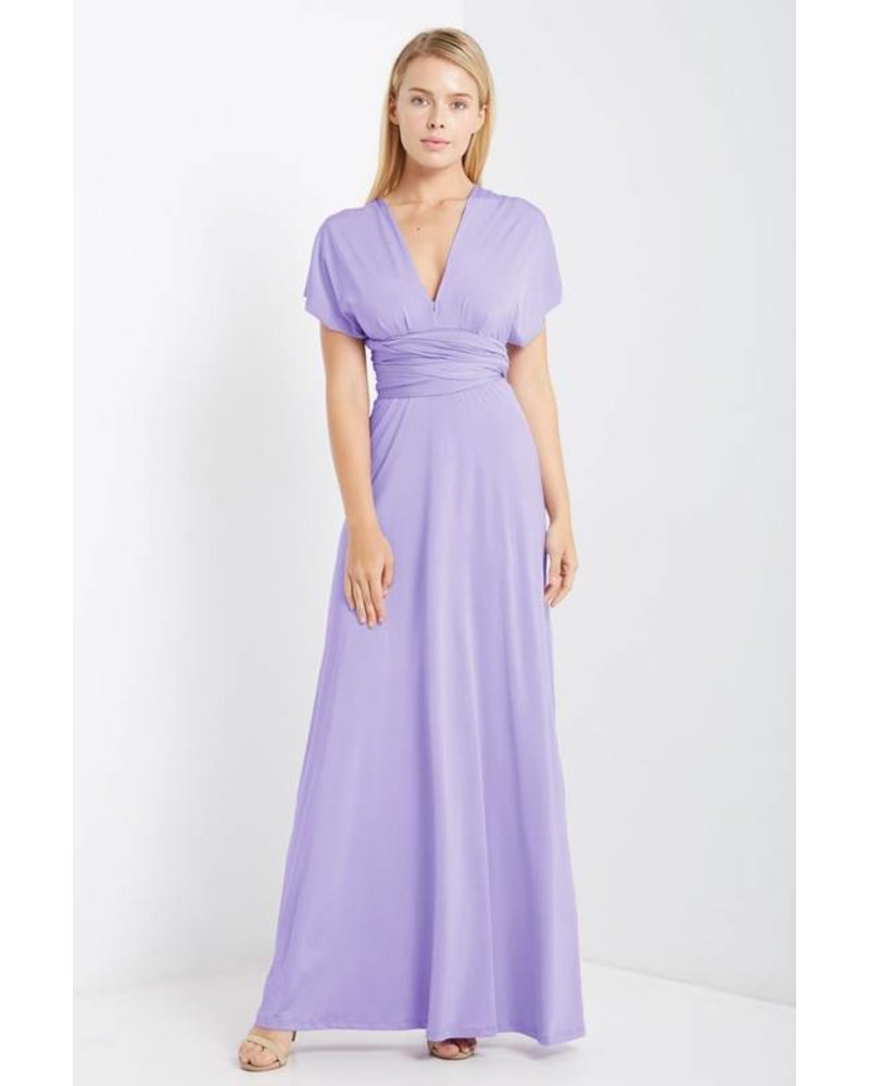 Free Spirit Convertible Maxi in Lavender