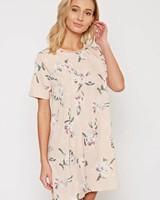 Floral T Shirt Dress