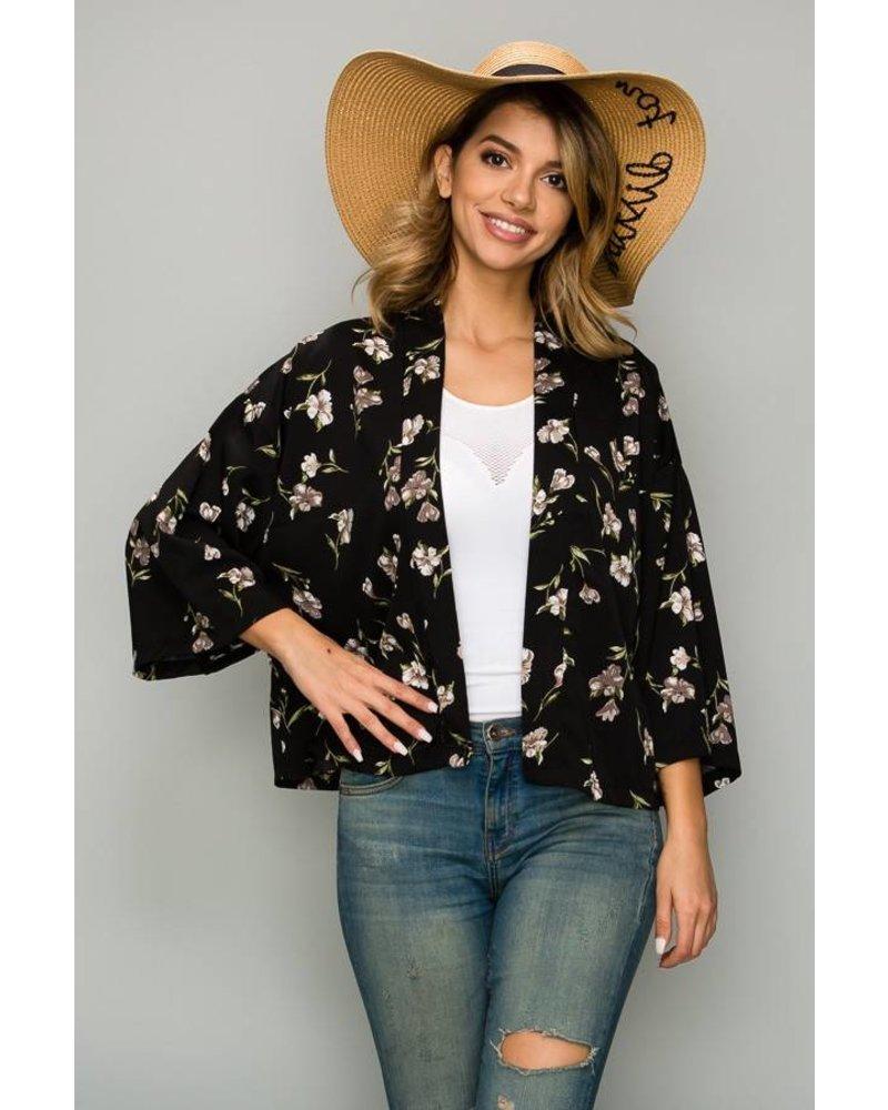 Raven Kimono