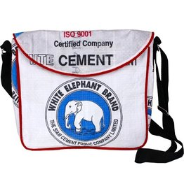 Malia Designs White Cement Crossbody