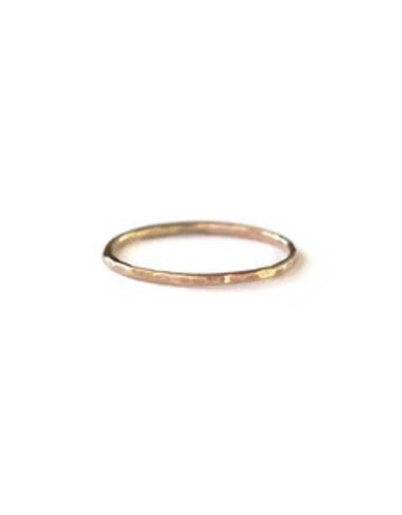 FashionAble Hammered Stacking Rings