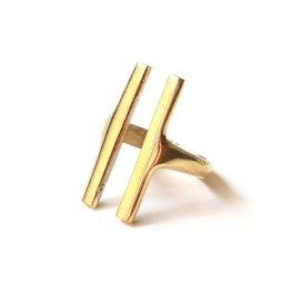 Soko Double Bar Ring