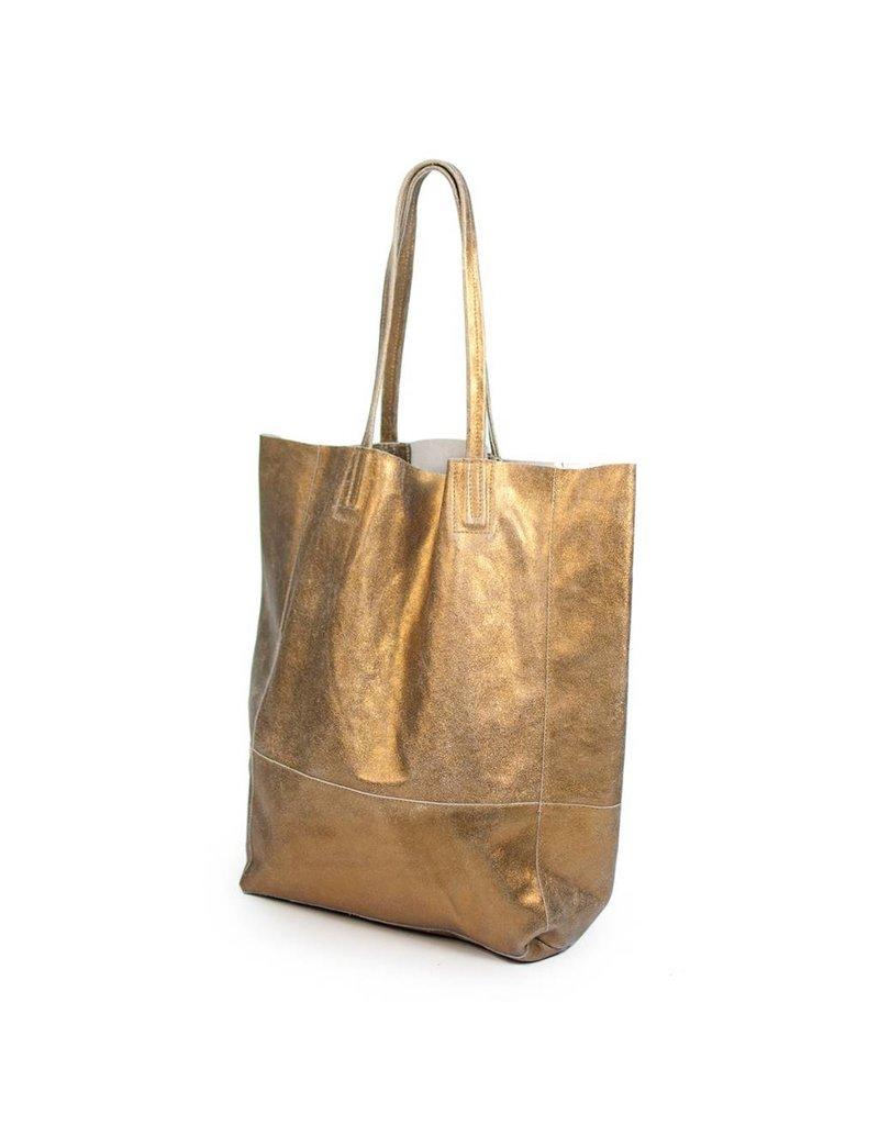 Sseko Designs Sseko Designs Bucket Bag - Gold