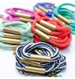 Jill Makes Rope & Bar Bracelets