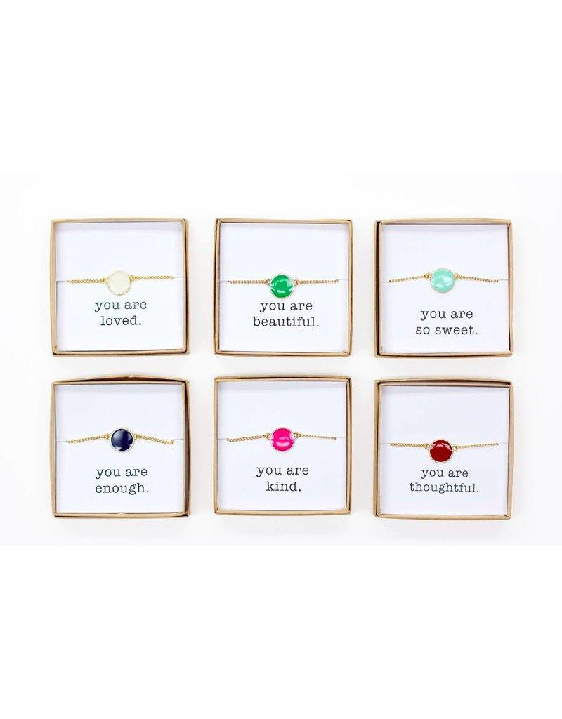 Shop Compliment Gratitude Bracelet