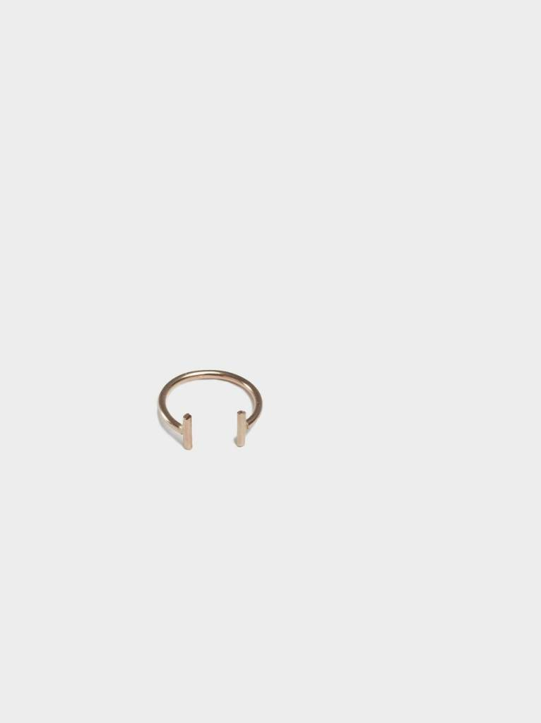 FashionAble Double Bar Ring