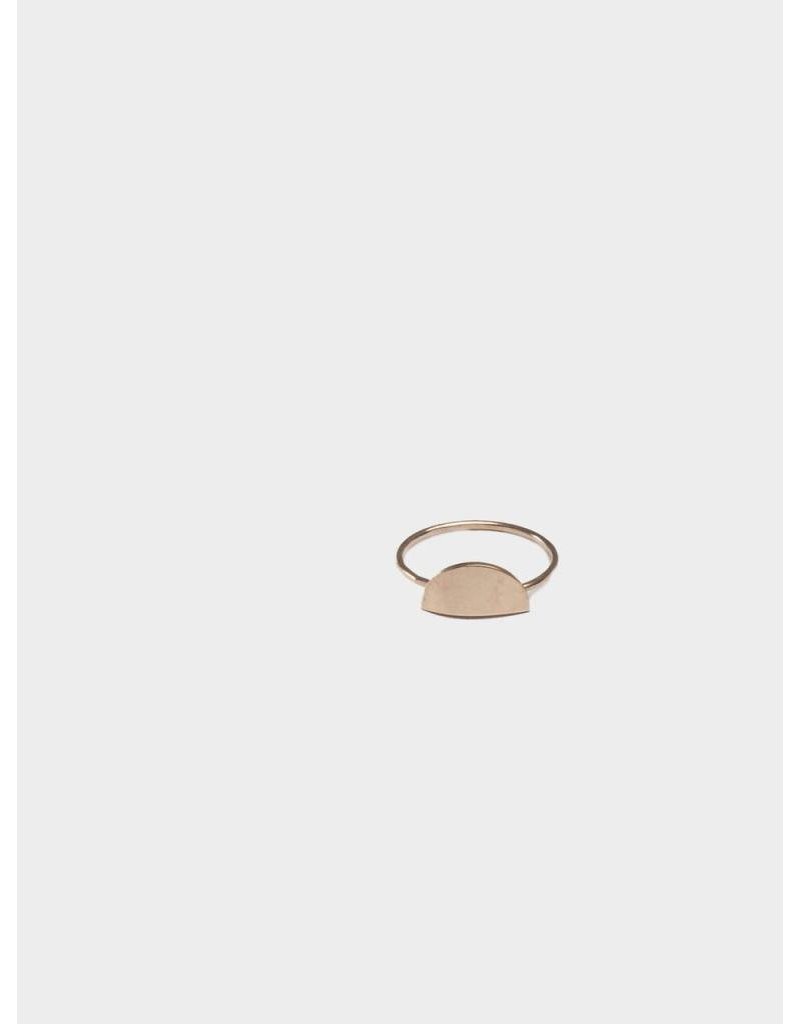 FashionAble Crescent Ring