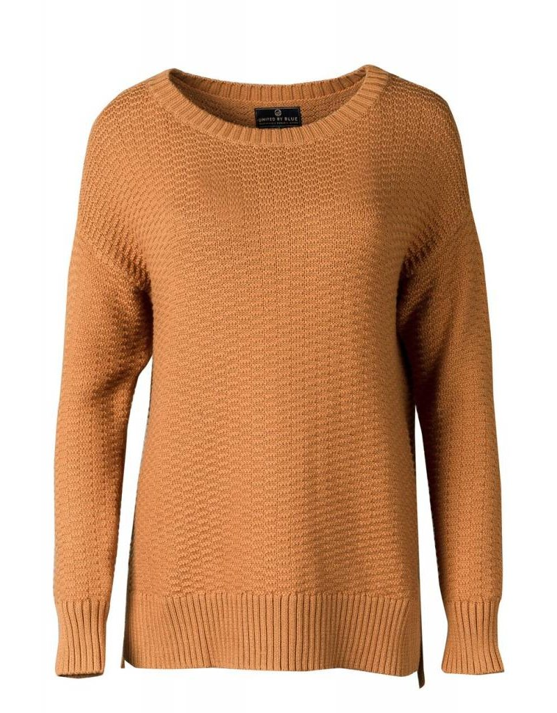 United By Blue Himley Waffle Sweater