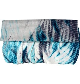 Malia Designs Silk Tie Dye Clutch
