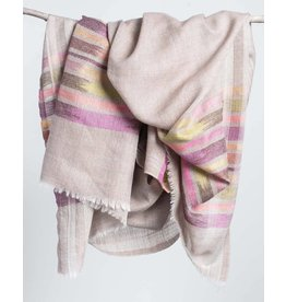 Bloom & Give Fine Wool Scarf