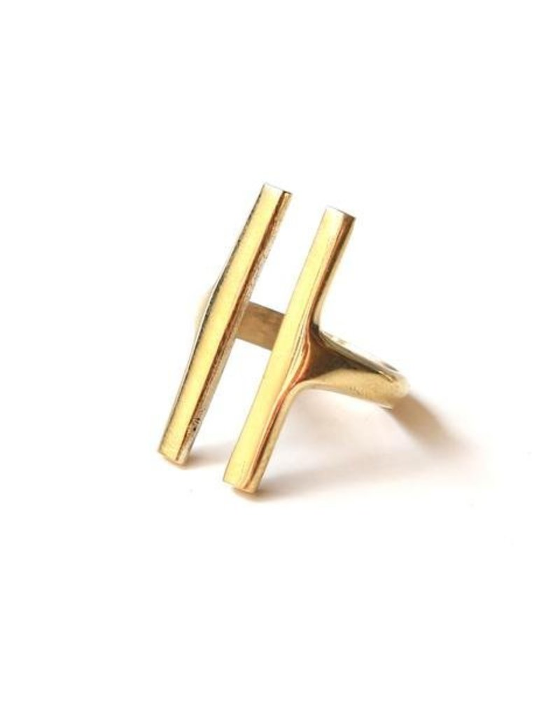 Soko Double Bar Ring