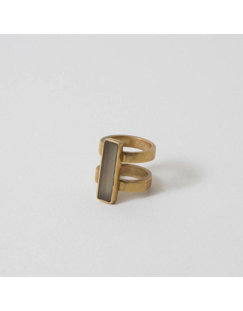 Soko Horn Bar Ring