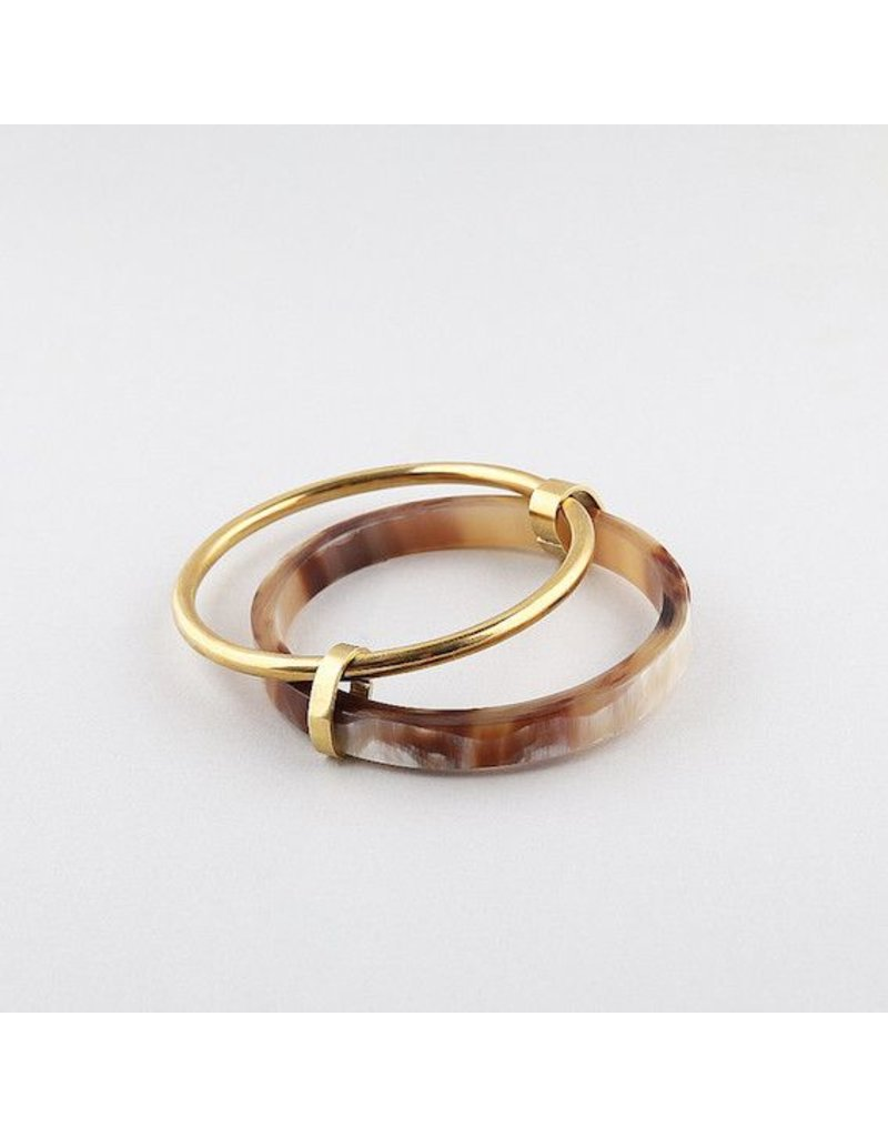 Soko Banded Contrast Bangles