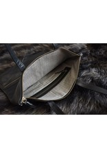 Kiko Leather Fold n Hold Tote