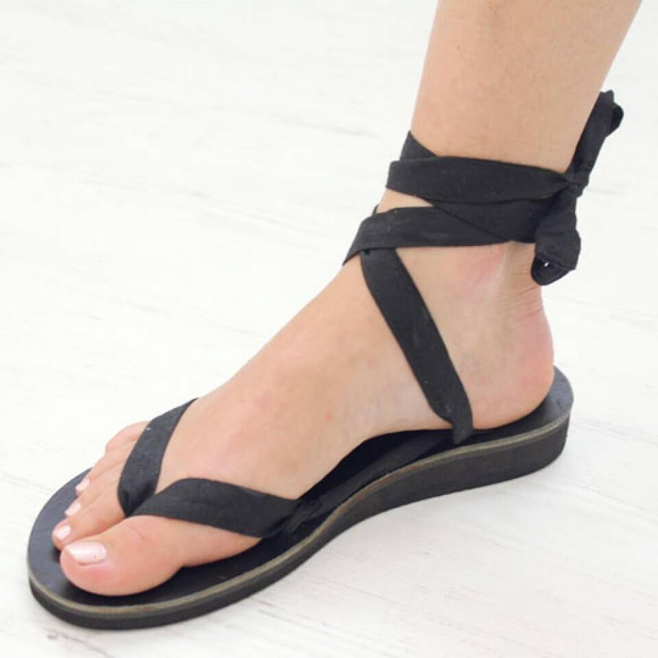 Sseko Designs Sandal Base with Ribbon