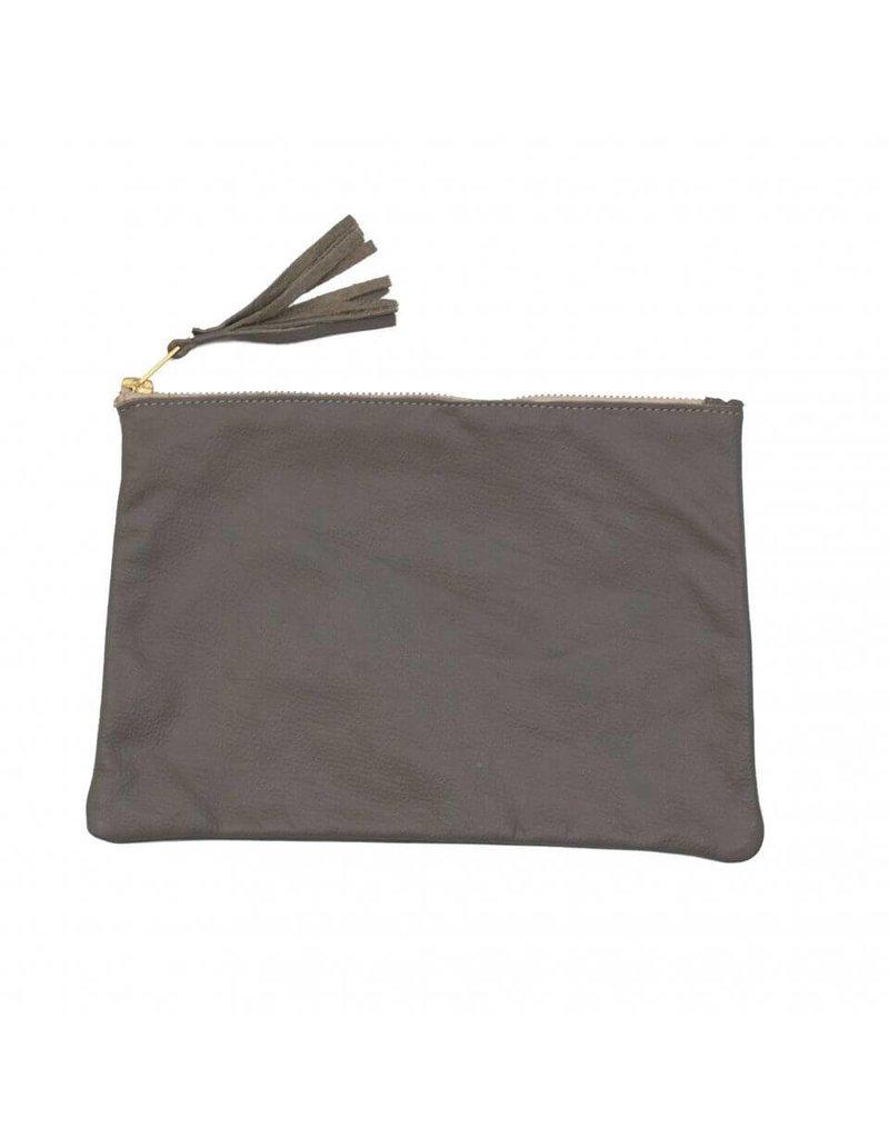 Sseko Designs Tassel Clutch