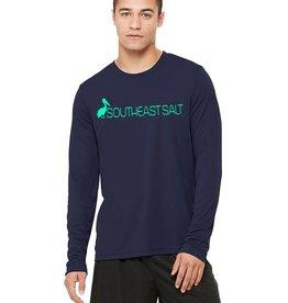 Southeast Salt Men's Logo Performance Long Sleeve
