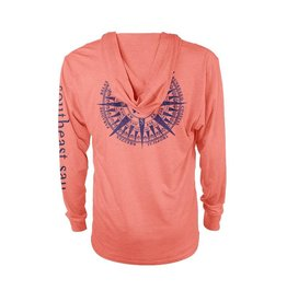 Southeast Salt Original Compass Hooded T-Shirt