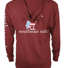 Southeast Salt American Pelican Hooded T-Shirt