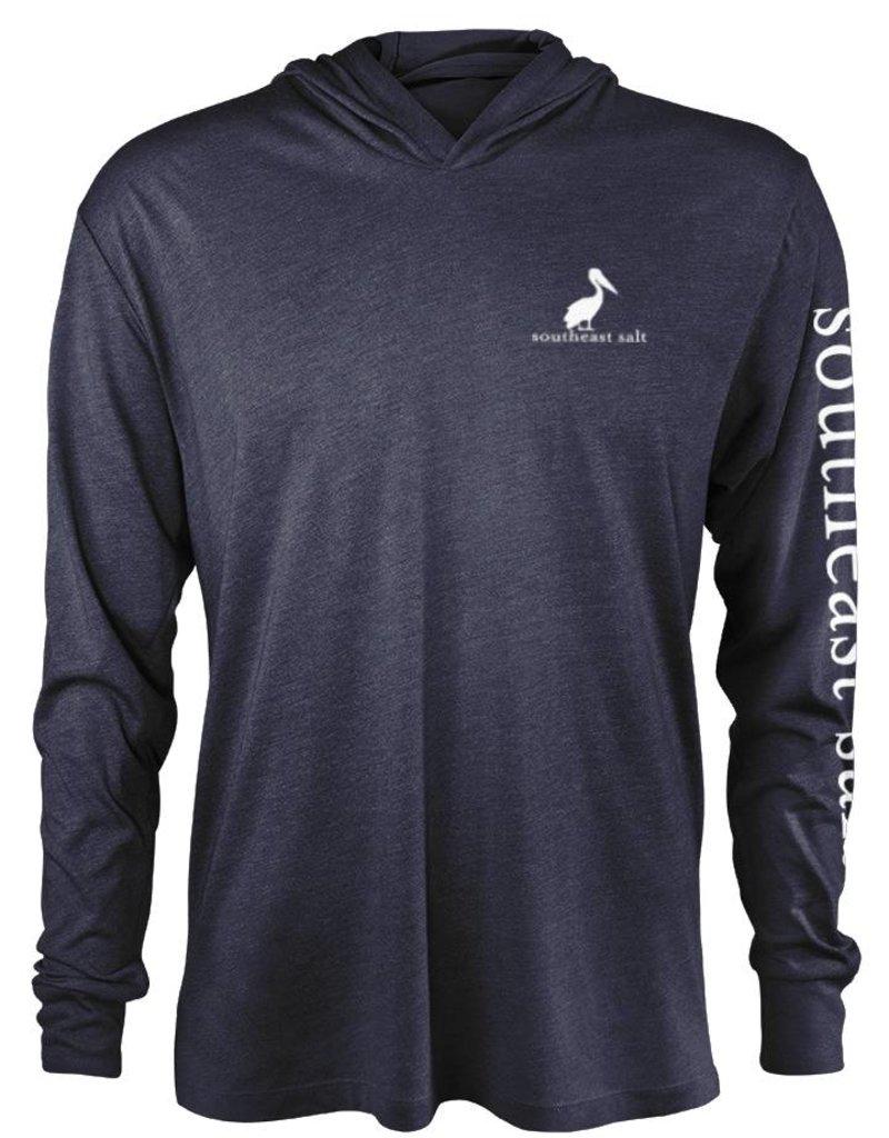 Southeast Salt American Pelican Hooded T-Shirt