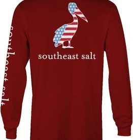 Southeast Salt American Pelican Long Sleeve