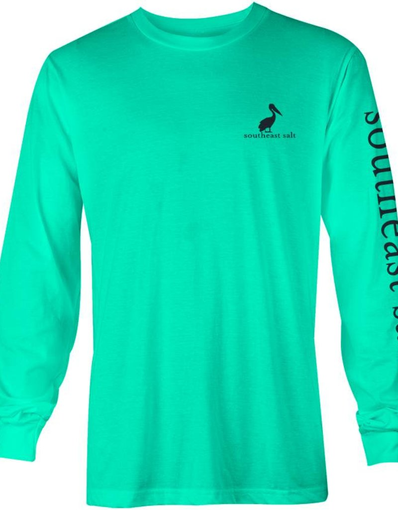 Southeast Salt Green Leaves Long SLeeve