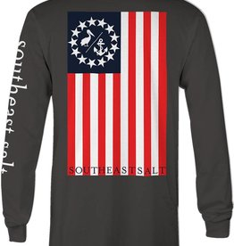 Southeast Salt Yacht Ensign Long Sleeve
