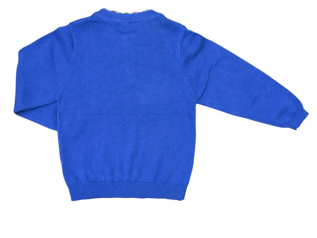 Charm Mock Shirt Sweater