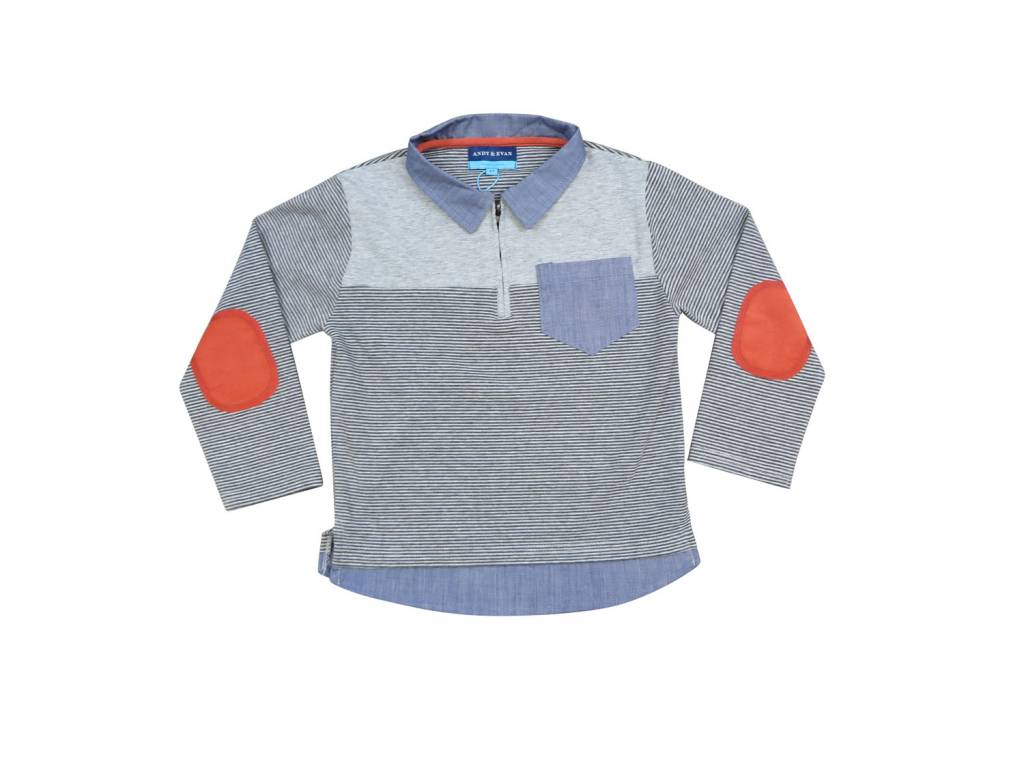 Andy & Evan L/S Polo