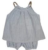 anais & i Maya Glitter Stripe Shorts