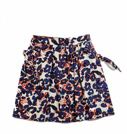 Luella Couture Printed Two Pocket Skirt
