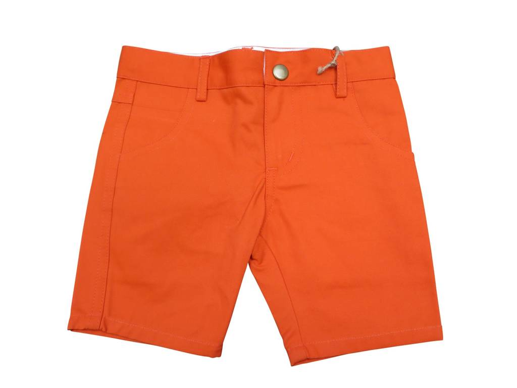 Crew Kids Short Chino Orange