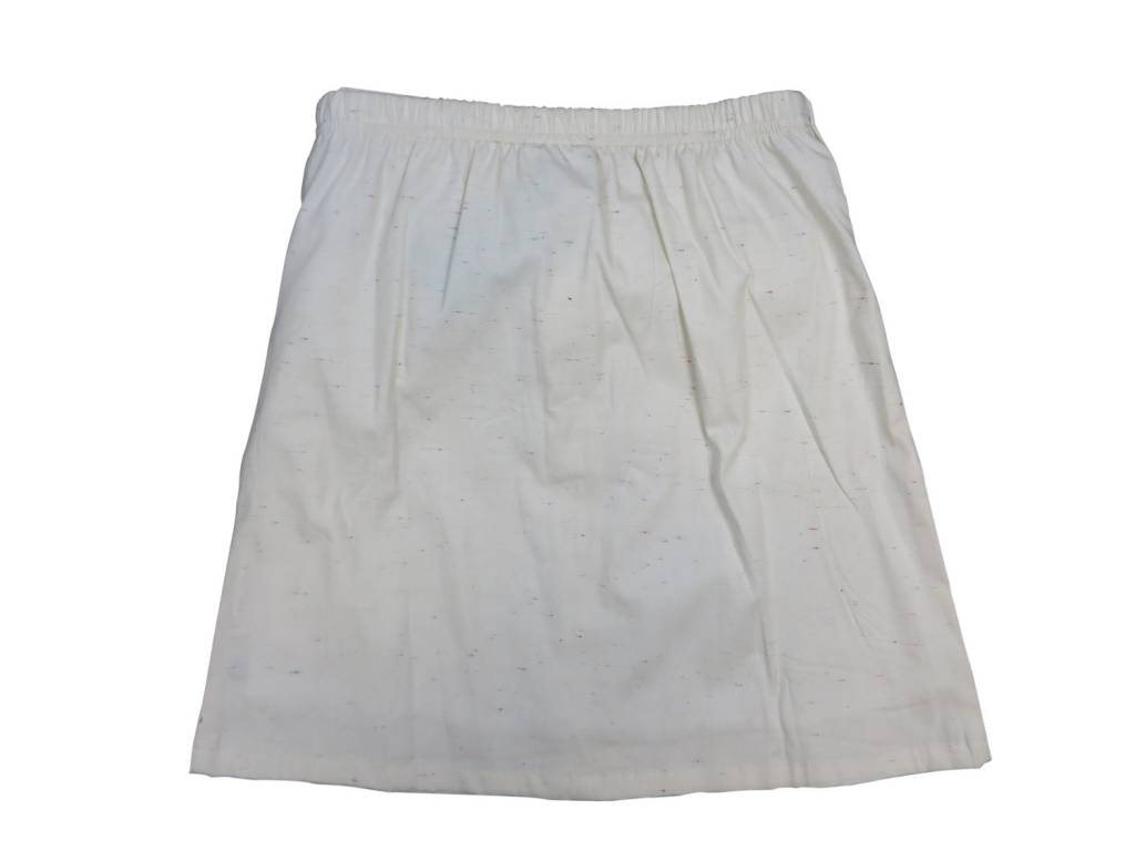 Crew Kids Sleeve Skirt White