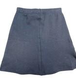 Crew Kids Triangle Stitch Skirt White