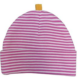 Sippy's Babes Fucshia Stripe Hat