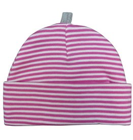 Sippy's Babes Fucshia and Grey Stripe Hat