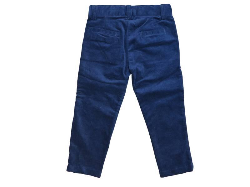 Charm Boys Velvet  Pants Navy