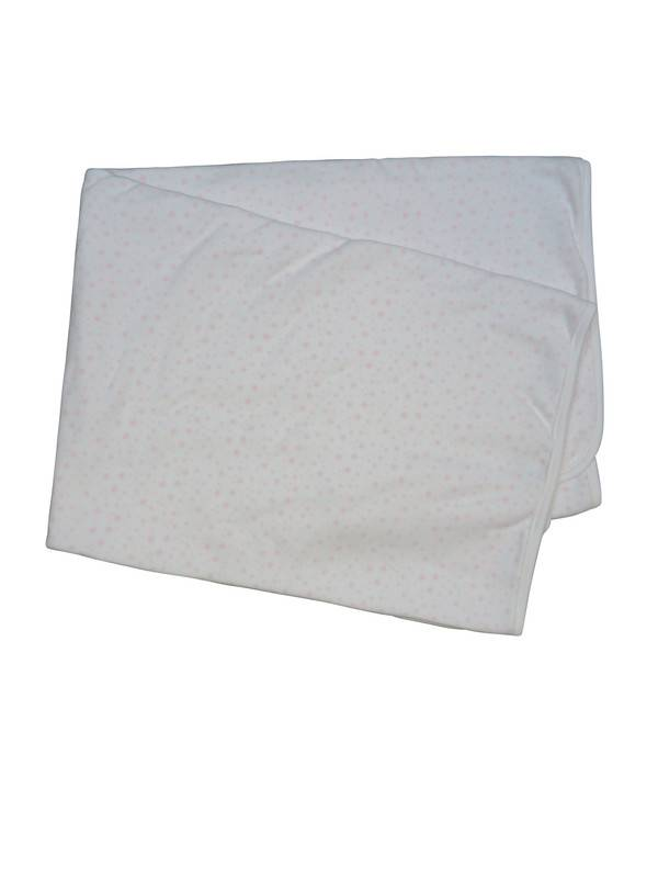 Babidu Pink Star Print receiving blankets
