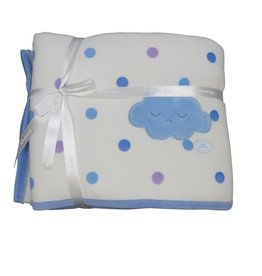 Tutto Piccolo BABY BLANKET WITH CLOUD AND SPOTS