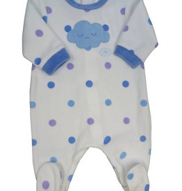 Tutto Piccolo BABYGROW WITH CLOUD AND SPOTS