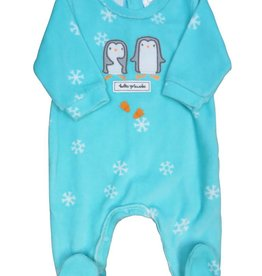Tutto Piccolo BABYGROW WITH PENGUIN AND SNOWFLAKES