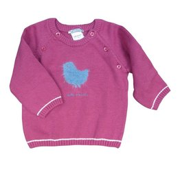 Tutto Piccolo GIRLS JUMPER WITH BIRDIE