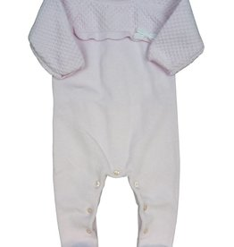 Tutto Piccolo KNITTED BABY GROW PINK