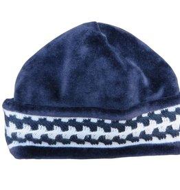 Chant de Joie Navy Hat Knit Trim