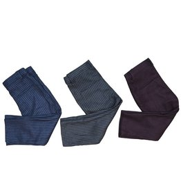 Little Cocoon Pinstripe Slim Pant Blue